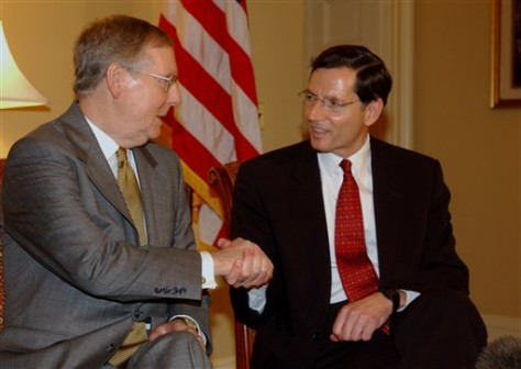 IMAGE:  Sens. Mitch McConnell and John Barrasso