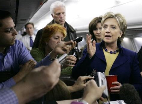 IMAGE: Sen. Hillary Rodham Clinton, D-N.Y.