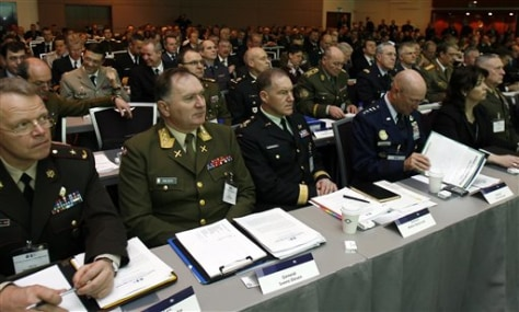 Image: NATO officers meet in Iceland