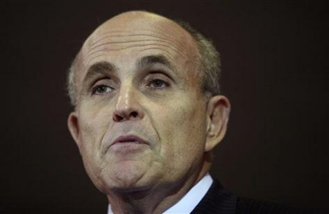 IMAGE: Presidential hopeful Rudy Giuliani