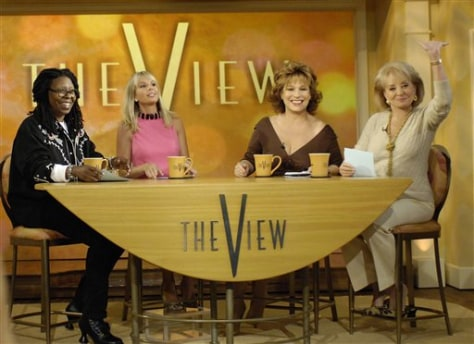 "Image: Cast of ""The View"""