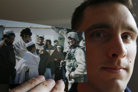 Image: Iraq and Afghanistan veteran Jim Morin
