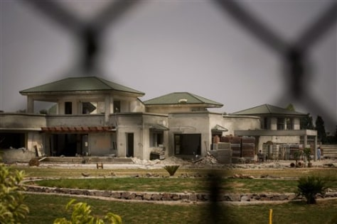 Image: Home being built for Musharraf