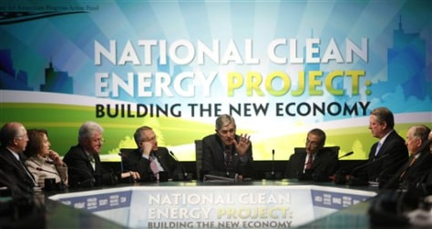 Image: Energy summit panelists