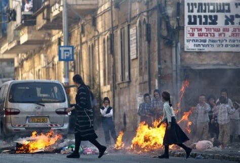 Image: Jerusalem rioting