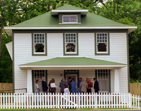 Image: Bill Clinton birthplace home