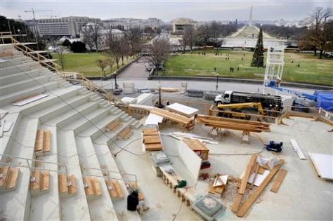 Image: Inaugural platform construction