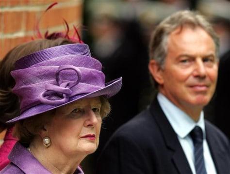 Image: Thatcher, Blair
