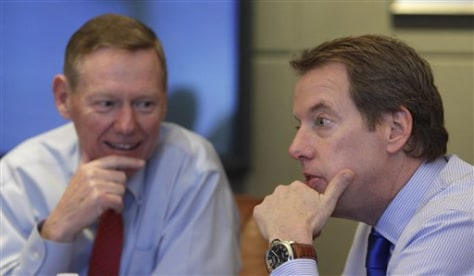 Bill Ford, Alan Mulally