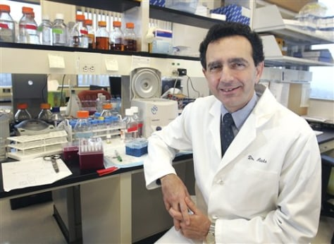 Dr. Anthony Atala, head of Wake Forest's regenerative medicine institute