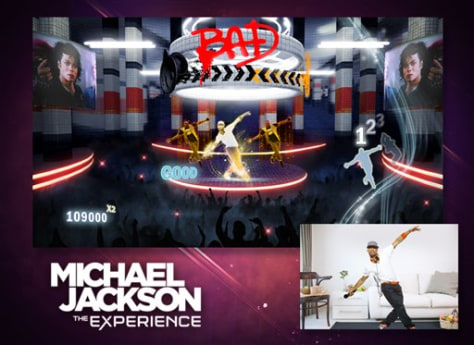 "Image: Scene from ""Michael Jackson The Experience"""