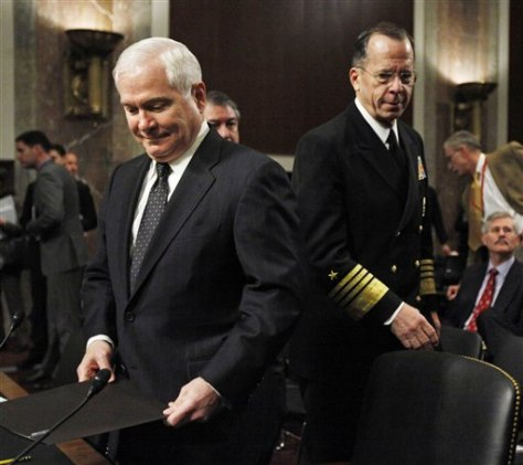 Robert Gates, Michael Mullen