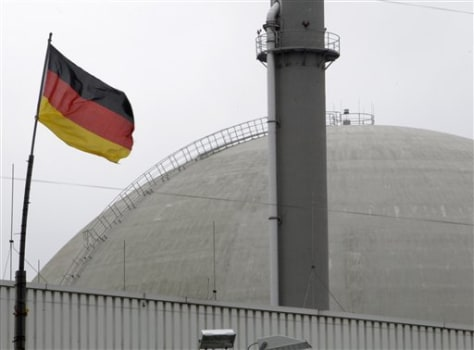 Image: The nuclear power plant of Biblis, Germany.