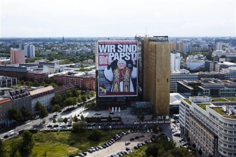 Image: Large poster in Berlin