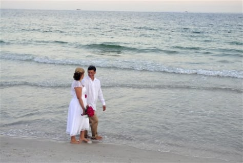 Gulf Oil Spill Weddings