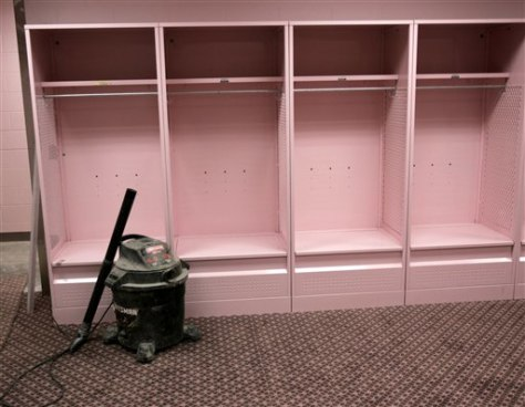 IOWA PINK LOCKER ROOM