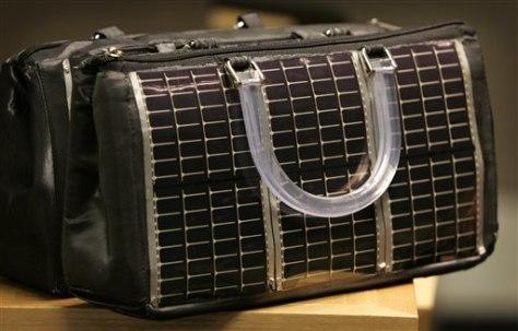 Solar purse