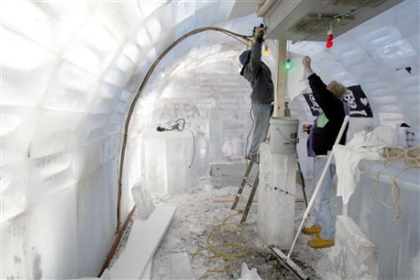 Image: Ice bar