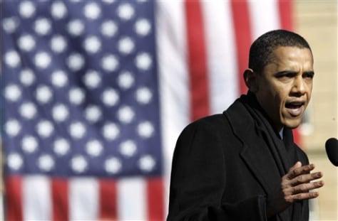 U.S. Sen. Barack Obama, D-Ill.