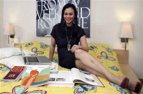 Image: Indonesian sex therapist Zoya Amirin