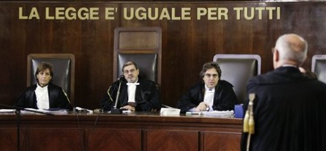Image: Italian Judge Francesco Silocchi
