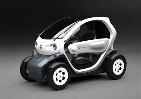 Nissan Shows Tiny Electric Concept Vehicle Business Autos