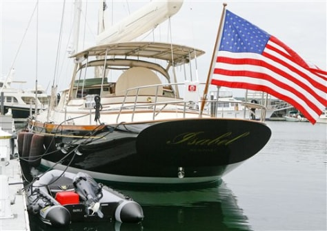 Image: Kerry's boat
