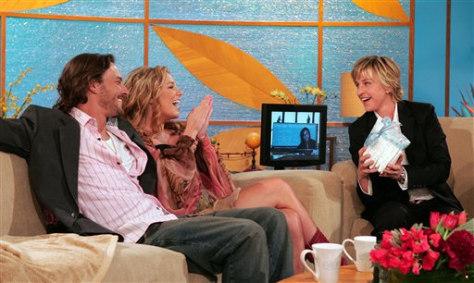 Image: Spears, Federline, DeGeneres