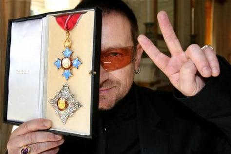 Image: Bono the knight