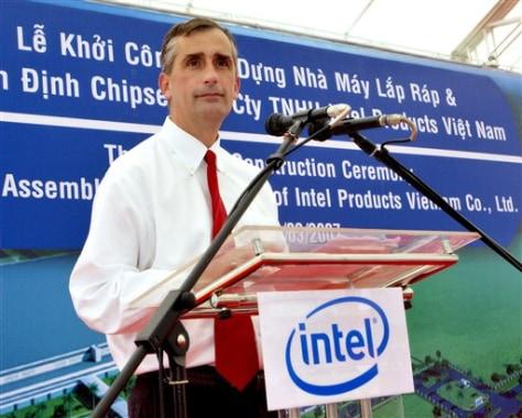 Image: Intel Corp. Vice President Brian Krzanich