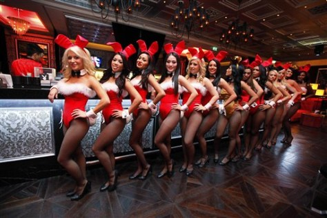 Image: Playboy Macau waitresses