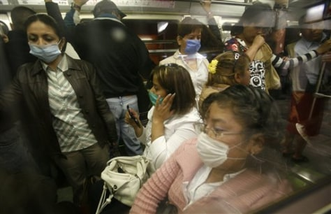 Image: Swine flu in Mexico