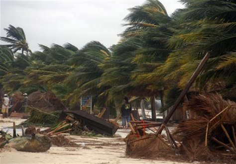 Image: Damage from Hurricane Ernesto