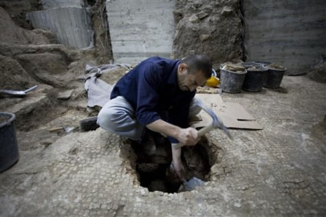 Image: Excavation site in Jerusalem