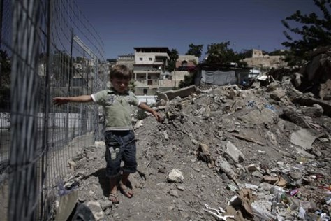 Image: A Palestinian child