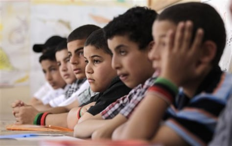 Image: Students in Libya