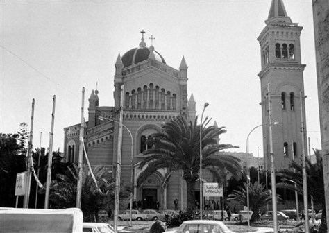 Image: Roman Catholic Cathedral in Tripoli, Libya