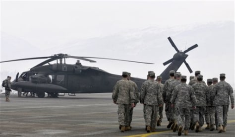 Image: U.S. helicopter joins Montenegro winter rescue effort