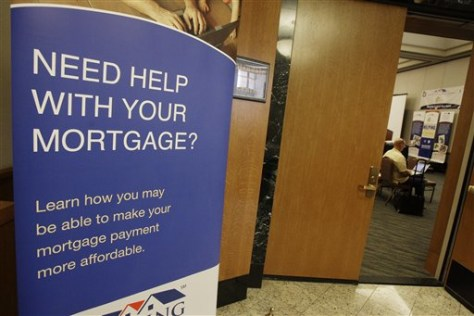 Image: mortgage aid sign