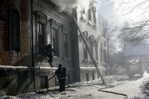 IMAGE: LATVIA FIRE