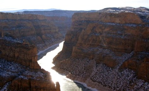 IMAGE: BIGHORN RIVER AND CANYON