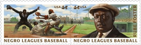 Image: Negro leagues baseball stamps