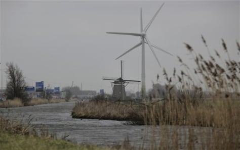Image: Dutch windmills
