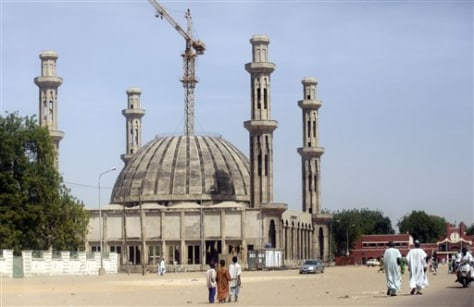 Image: Sunni mosque being built in Maiduguri, Nigeria