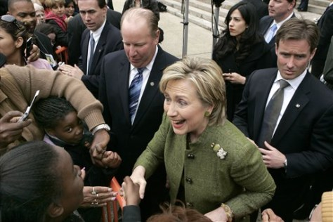 Image: Sen. Hillary Rodham Clinton