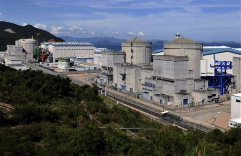 Image: Ling'ao Nuclear Power Plant near Shenzhen in southern China