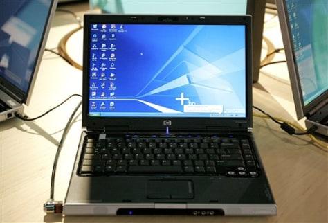 H-P laptop