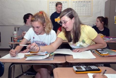 Image: Roosevelt classroom