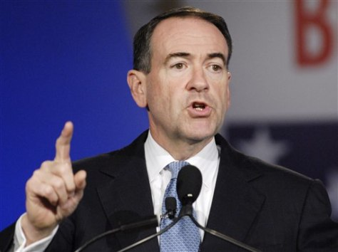 Former Gov. Mike Huckabee, R-Ark.