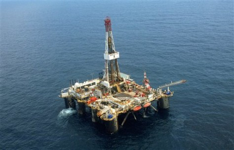 Image: Offshore oil platform in Nigeria